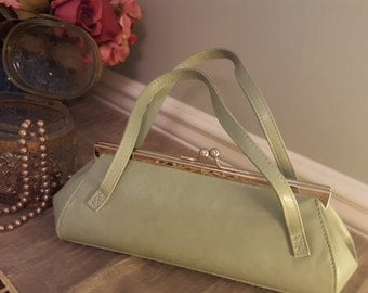 Light green purse