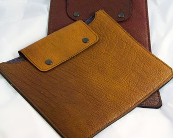 iPad Case - Bison Leather - Verical