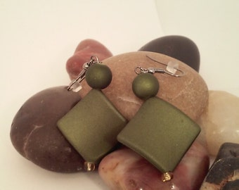 Handmade one of kind earrings