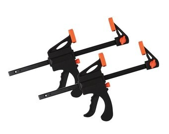 """Twin Pack, Quick Grip Bar Clamps, 4"""" (100mm) Quick-Release, CT1408"""