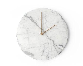 Marble Wall Clock | Grigio Gioia