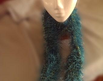 Handmade Fuzzy Scarf