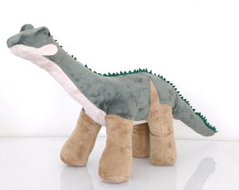 Big Brontosaurus Custom Handmade Dinosaur Plush