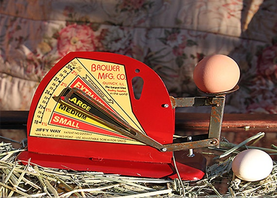 Jiffy Way Chicken Egg Scale Brower MFG Co.