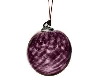 Hand Blown Jewel Toned Ornaments