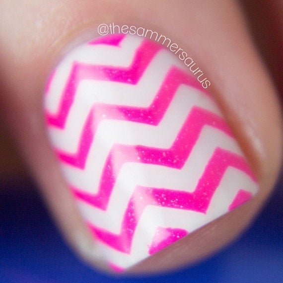 Skinny Zig Zag Tape For Nail Art Chevron Stickers By