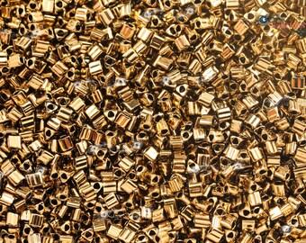 TOHO 11/0 Triangle Beads - Bronze [TG-11-221]