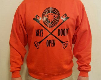 Keys Open Doors - Custom Sweatshirt by SnapSkull