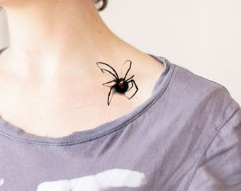 Halloween Special, Claws/Spider/Eyeball - Temporary Tattoos // Body Art // Cool // Tumblr Style // Summer // Party