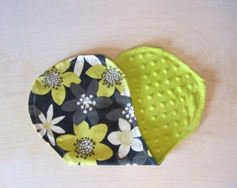 Sale! Flower Baby Burp Cloth