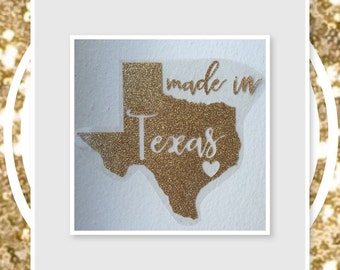 DIY Made In Decal