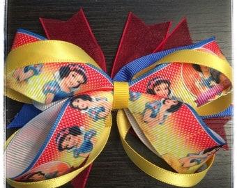 Disney's Snow White Boutique Stacked Bow