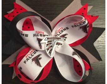Atlanta Falcons Stacked Boutique Bow