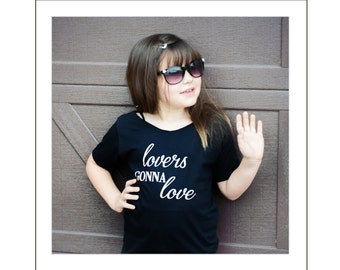 "Children's T-Shirt  ""Lovers Gonna Love"" - Graphic Tee Shirt"