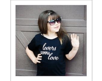 "Children's T-Shirt  ""Lovers Gonna Love"" - Graphic Tee Shirt"