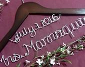 Sale,Bridal  Hanger,  Personalized Bridal hangers, Bride Hanger, Custom made wedding Hanger, Name Hanger, Wedding dress Hanger, Bride.