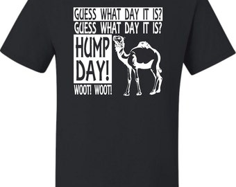Adult Hump Day Camel T-Shirt