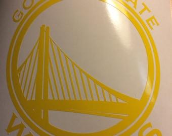 Golden State Warriors Laptop  Car Decal