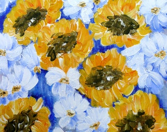 Sunflowers - Limited Edition Print.