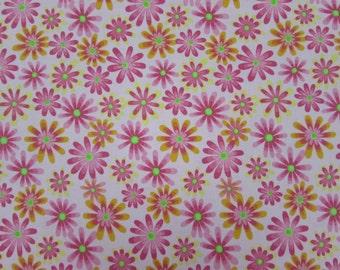 Flower Power Lt. Pink Fabric