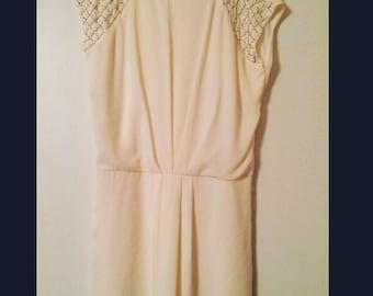 Vintage cream dress