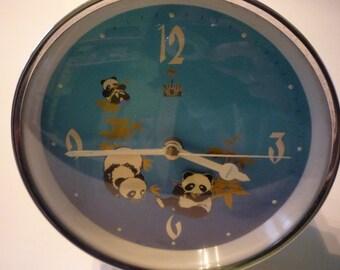 Vintage Mechanical Diamond Alarm Clock, Working Condition, Chinese Clock