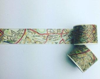 U.K. Road map washi tape
