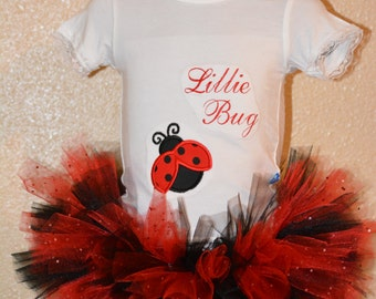 Tutu and onsie- Lady Bug