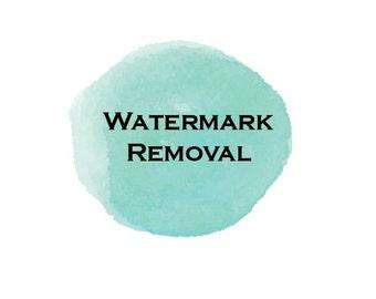 Watermark Removal