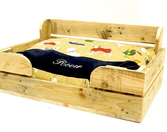 Personalised pallet wood  Dog Bed