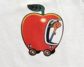 Lowly Worm Inspired ONESIE to ADULT Sized Shirt, Baby Onesie, Adult Tee Shirt, Busy Town Shirt