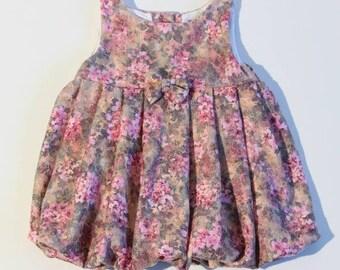 Pastel flowers dress
