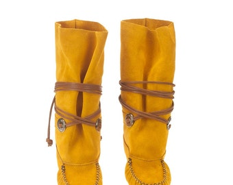 Authentic native boots for woman