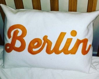 Berlin City Cushion
