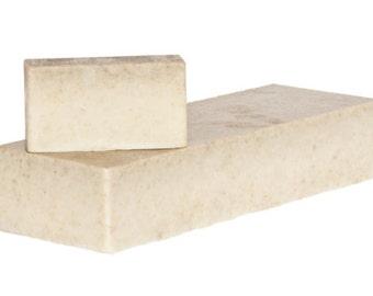 Goats Milk and Oatmeal - 1.2kg soap loaf