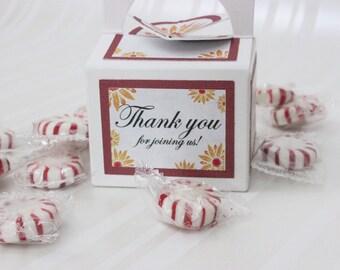 Wedding Favor Boxes, Party Favor Boxes, Treat Boxes, Gift Boxes