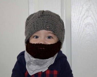 Infant Bearded Beanie