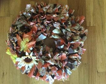 Knot wreath