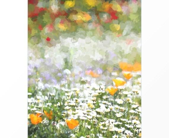 "Botanical Print, Wild Flowers, Fine Art Print, Flower Decor, Botanical Flower Print, Gift for Mom, Floral Decor ""Lost in Petals"""