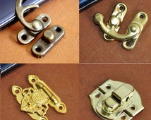 Lock And Key Accessories,Box Hardware,Wood Box Clasp, Hardware Connector,Handmade Wholesale