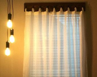 Wooden Window Valence