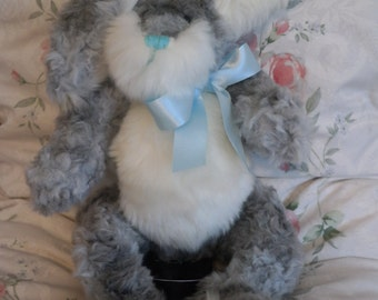 blue the bunny hand made