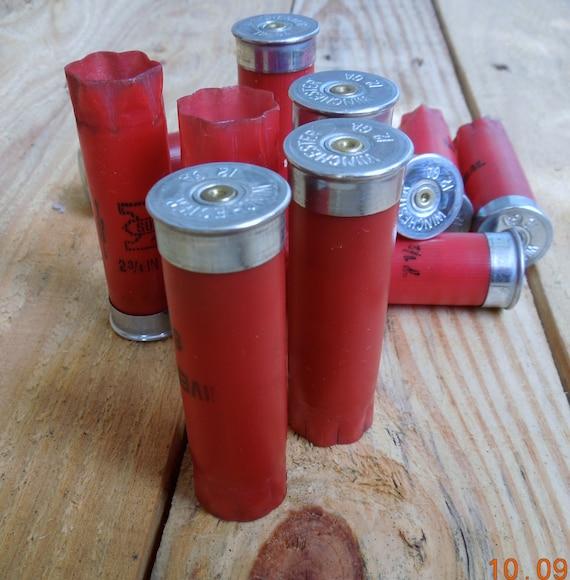 Shotgun shells 12 size lot Luscious Red by ShotgunShellsPlus