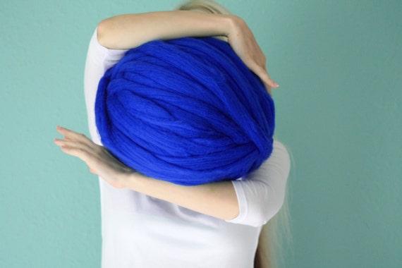 Merino vlny, roving příze, podsaditý příze, velký příze, super robustní příze, rameno pletení, vlna, Chunky vlna, 19 mikronů Merino Wool