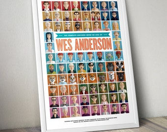 The Complete Universe (More or Less) of Wes Anderson