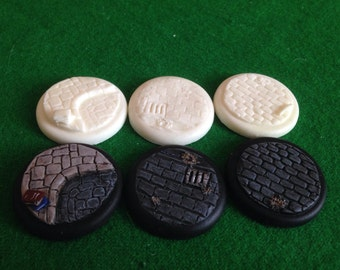 Warmachine warbases 40ml resin cobble stone