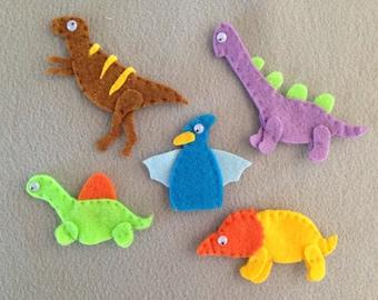 Dinosaurs Finger Puppets