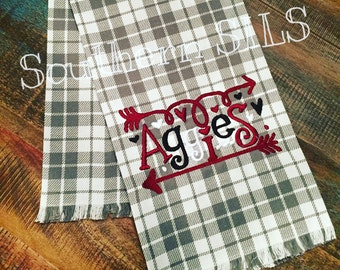 Custom Kitchen or Guest Towel