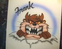 Tasmanian Devil with a name