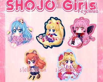 Shojo Girls! - Keychains